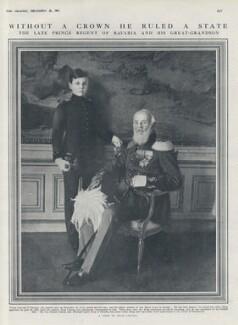 Luitpold Maximilian Ludwig Karl, Prince of Bavaria; Luitpold, Prince Regent of Bavaria, by Franz Grainer - NPG x136703