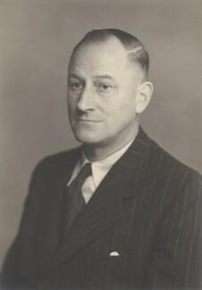 Sir Gerald Reece, by Walter Stoneman - NPG x159850