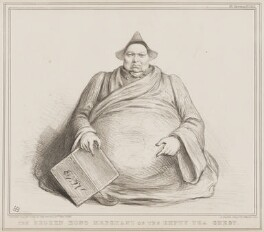 The Broken Hong Merchant or the Empty Tea Chest (Prince Augustus Frederick, Duke of Sussex), by John ('HB') Doyle, printed by  Alfred Ducôte, published by  Thomas McLean - NPG D41492