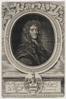 Sir Paul Rycaut, by Robert White, after  Sir Peter Lely - NPG D42600