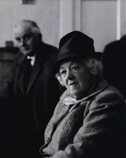 Dame Margaret Rutherford, by Bob Collins, 1963 - NPG x136736 - © estate of Bob Collins / National Portrait Gallery, London
