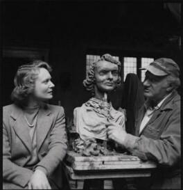 Anna Neagle; Jacob Epstein, by Ida Kar, 1953 - NPG x136757 - © National Portrait Gallery, London