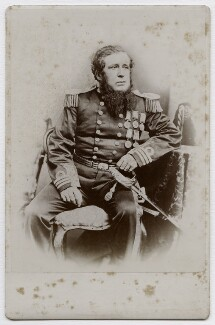 Admiral Freeland, by Unknown photographer - NPG x136747