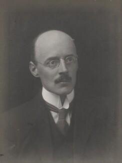 Sir Owen Willans Richardson, by Walter Stoneman - NPG x159900