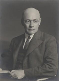 Sir Owen Willans Richardson, by Walter Stoneman - NPG x159901