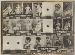 Emily Helena Dagg (Helena Dacre); Madame Ivanhoe; Mrs Bernstein; Ada Branson, by and after Alexander Bassano - NPG Ax136810