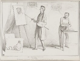 HB Discovered!, by John ('HB') Doyle, printed by  Alfred Ducôte, published by  Thomas McLean - NPG D41515