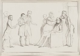 A Cure for a Broken Head, by John ('HB') Doyle, printed by  Alfred Ducôte, published by  Thomas McLean, published 1 May 1839 - NPG D41521 - © National Portrait Gallery, London
