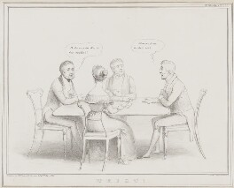 Whist!, by John ('HB') Doyle, printed by  Alfred Ducôte, published by  Thomas McLean - NPG D41524