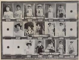 Helen Mathers (Helen Buckingham Reeves, née Mathews); Kitty Mason; Sara Miskell, by and after Alexander Bassano - NPG Ax136824