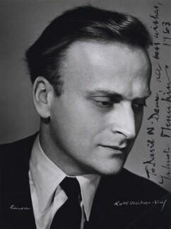 Yehudi Menuhin, by Lotte Meitner-Graf - NPG x136834