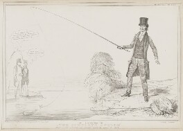 The Complete Angler, by John ('HB') Doyle, printed by  Alfred Ducôte, published by  Thomas McLean - NPG D41532