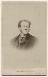 Sir John Everett Millais, 1st Bt, by London Stereoscopic & Photographic Company - NPG x136798