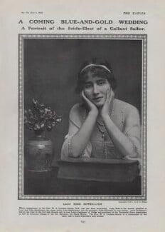 Rose Constance (née Bowes-Lyon), Countess Granville, by E.O. Hoppé - NPG x136835