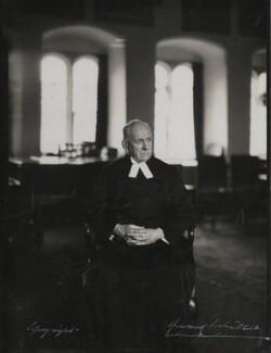 Hugh Richard Heathcote Gascoyne-Cecil, Baron Quickswood, by Howard Coster - NPG Ax136147