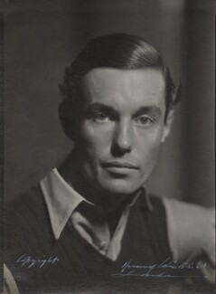 (Robert) Peter Fleming, by Howard Coster, 1935 - NPG Ax136162 - © National Portrait Gallery, London