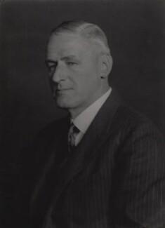 Sir Charles Augustus Tegart, by Walter Stoneman - NPG x168897