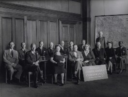 World Association of Parliamentarians for World Government, 1954, by Howard Coster - NPG x136843