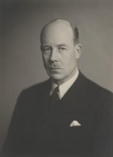 Sir Gerald Lenanton, by Walter Stoneman - NPG x168908