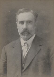 John Mackinnon Robertson, by Walter Stoneman - NPG x159966