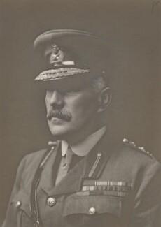 Sir William Robert Robertson, 1st Bt, by Walter Stoneman - NPG x159968