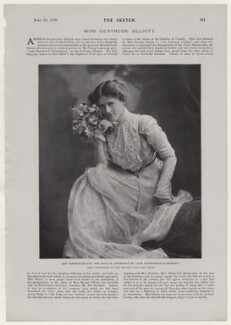Gertrude Elliott, by Lascelles, after  John Edwards, published 20 June 1900 - NPG x136853 - © National Portrait Gallery, London