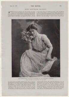 Gertrude Elliott, by Lascelles, after  John Edwards - NPG x136853