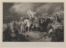 Field Marshall the Duke of Wellington KG &c &c Giving Orders to his Generals Previous to a General Action, by, published by and after Anker Smith, by  Thomas Heaphy, published by  Rudolph Ackermann - NPG D42614