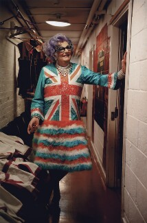 Barry Humphries as Dame Edna Everage, by Lucy Sewill - NPG x136871