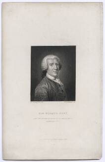 Sir Horace ('Horatio') Mann, 1st Bt, by William Greatbach, published by  Richard Bentley, after  John Astley - NPG D42620