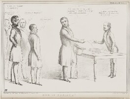 Men of Feeling!, by John ('HB') Doyle, printed by  Alfred Ducôte, published by  Thomas McLean - NPG D41540