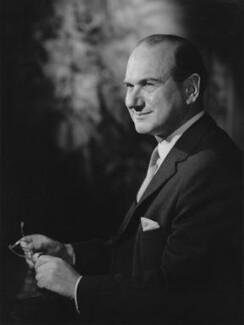 Dennis Lloyd, Baron Lloyd of Hampstead, by Walter Bird - NPG x168982