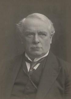 David Lloyd George, by Walter Stoneman - NPG x168994