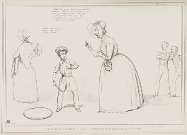 Symptoms of Insubordination, by John ('HB') Doyle, printed by  Alfred Ducôte, published by  Thomas McLean - NPG D41541