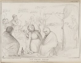 An Irish Wake, by John ('HB') Doyle, printed by  Alfred Ducôte, published by  Thomas McLean, published 8 November 1839 - NPG D41552 - © National Portrait Gallery, London