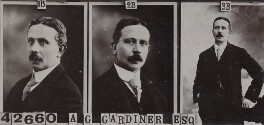 Alfred George Gardiner, by and after Bassano Ltd - NPG Ax136956