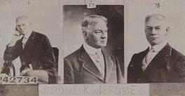 Jerome Klapka Jerome, by and after Bassano Ltd - NPG Ax136959