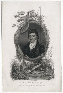 Thomas Frederick Salter, by Samuel Mountjoy Smith, published by  John Wicksteed, after  Thomas Charles Wageman - NPG D42623