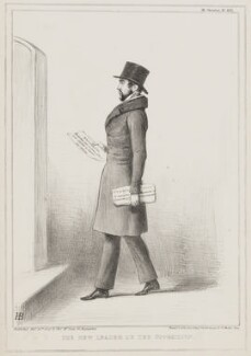 The New Leader of the Opposition (Charles de Laet Waldo Sibthorp), by John ('HB') Doyle, printed by  Alfred Ducôte, published by  Thomas McLean - NPG D41561
