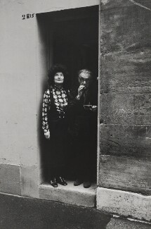 Man Ray; Juliet Man Ray (née Browner), by Jack Nisberg - NPG x136896