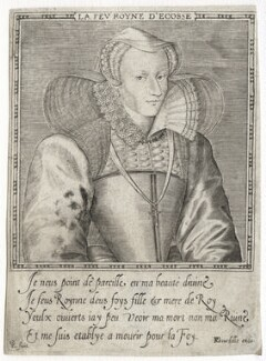 Mary, Queen of Scots, by Leonard Gaultier, published by  Pierre Gourdelle - NPG D42632