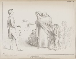 The Beggar's Petition (George William Frederick Howard, 7th Earl of Carlisle; Richard Lalor Sheil; Daniel O'Connell), by John ('HB') Doyle, printed by  Alfred Ducôte, published by  Thomas McLean - NPG D41565