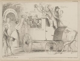 Breaking up for the Vacation, by John ('HB') Doyle, printed by  Alfred Ducôte, published by  Thomas McLean, published 11 August 1840 - NPG D41584 - © National Portrait Gallery, London