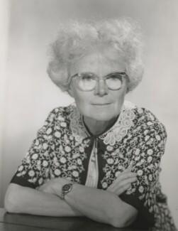 Dame Kathleen Lonsdale (née Yardley), by Walter Bird - NPG x186025