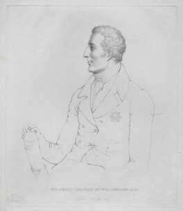 Arthur Wellesley, 1st Duke of Wellington, probably by Adam Buck - NPG D42634