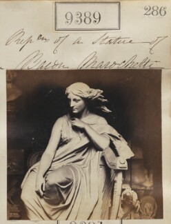 Statue of Erin, by Camille Silvy, after  Carlo Marochetti - NPG Ax59195