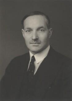 George Charles Patrick Bingham, 6th Earl of Lucan, by Walter Stoneman - NPG x186042