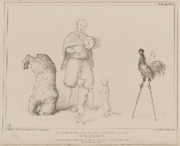 A Joculator! Or Teacher of Wonderful Animals (Henry John Temple, 3rd Viscount Palmerston), by John ('HB') Doyle, printed by  Alfred Ducôte, published by  Thomas McLean - NPG D41592