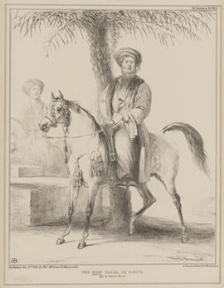 The New Pasha of Egypt (John William Ponsonby, 4th Earl of Bessborough; Henry John Temple, 3rd Viscount Palmerston), by John ('HB') Doyle, printed by  Alfred Ducôte, published by  Thomas McLean - NPG D41597