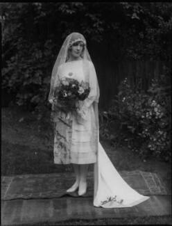 Annie Elizabeth ('Betty') Green (née Dunbar), by Lafayette - NPG x137015